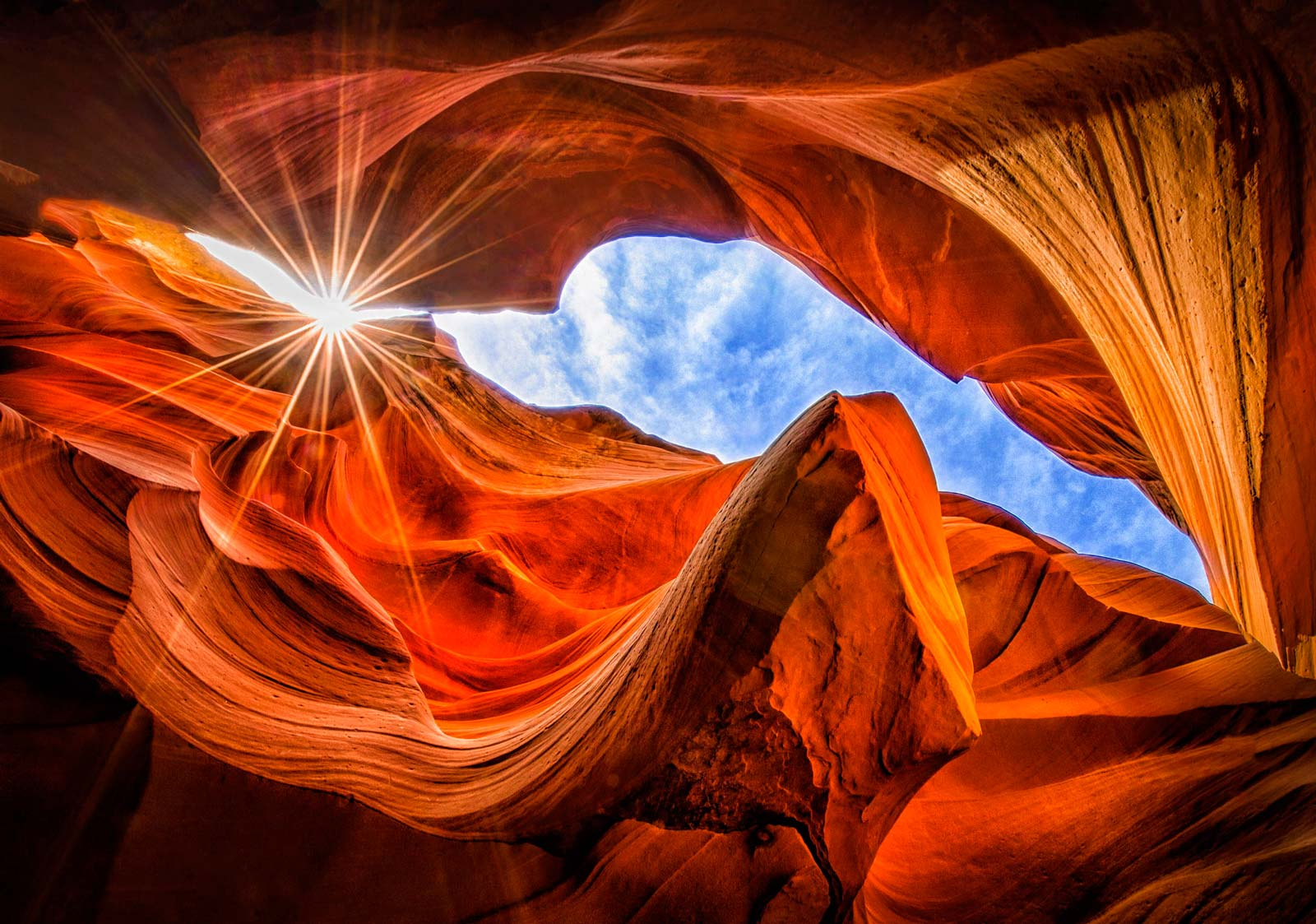 Каньон Антилопы (Antelope Canyon)