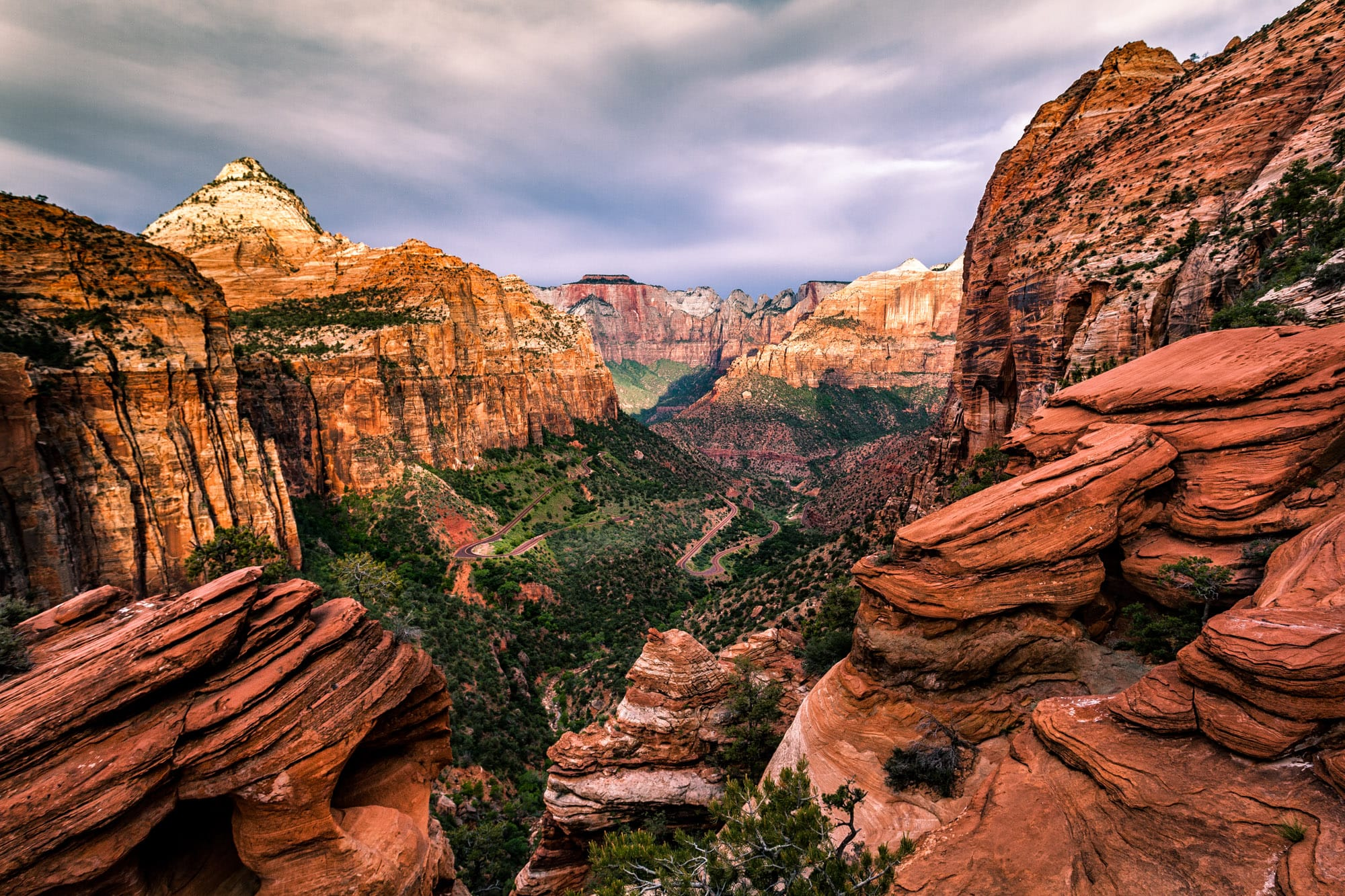 Зайон (Zion National Park) – национальный парк